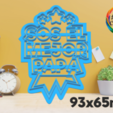 papá 1.png Download STL file father's day cutter set • 3D printing object, juanchininaiara