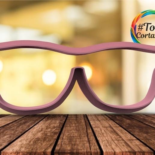 untitled.32.jpg Download STL file sharp glasses • 3D printable design, juanchininaiara
