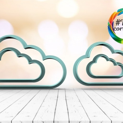 untitled.18.jpg Download STL file Cloud cutter set • 3D printing model, juanchininaiara