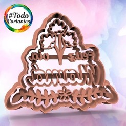 1350 Mamá 10.57.jpg Download STL file mother's day cutter set • 3D printable object, juanchininaiara