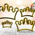 Download 3D printer model crown cutter set, juanchininaiara