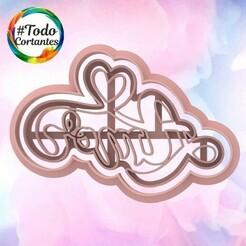2115 Amor.99.jpg Download STL file Valentine's Day Cutter • Design to 3D print, juanchininaiara