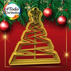 303 Arbol de cinta.19.jpg Download STL file Christmas tree • 3D printer design, juanchininaiara