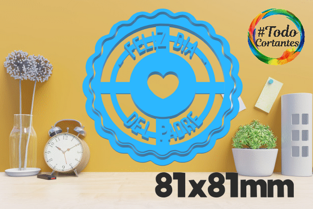 papá 8.png Download STL file father's day cutter set • 3D printing object, juanchininaiara