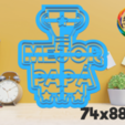 papá 4.png Download STL file father's day cutter set • 3D printing object, juanchininaiara