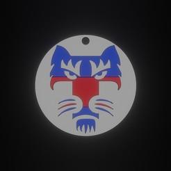 TIGRE T.jpg Download free STL file Tigre / Tiger Keychain • Design to 3D print, fjv3d