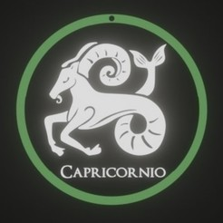 CAPRICORNIOX132.jpg Télécharger fichier STL ZODIAQUE, CAPRICORNE • Design pour impression 3D, fjv3d