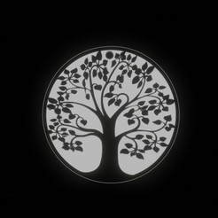 ARBOLDELAVIDA 2.jpg Télécharger fichier STL Arbol de la vida / Porte-clés de l'arbre de vie • Modèle à imprimer en 3D, fjv3d