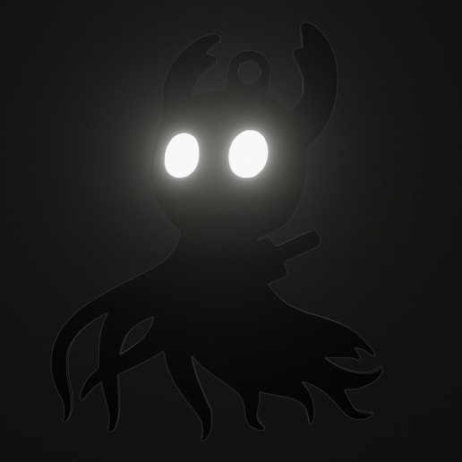 Download 3D printing designs HOLLOW KNIGHT SHADE, fjv3d