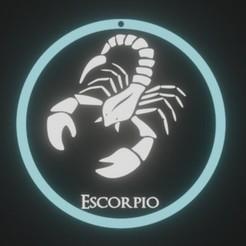 ESCORPIOx2.jpg Télécharger fichier STL ZODIAQUE, SCORPION • Plan à imprimer en 3D, fjv3d