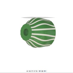 Lustre_ondule.jpg Télécharger fichier STL gratuit Lustre Ondule • Design imprimable en 3D, IamMaker