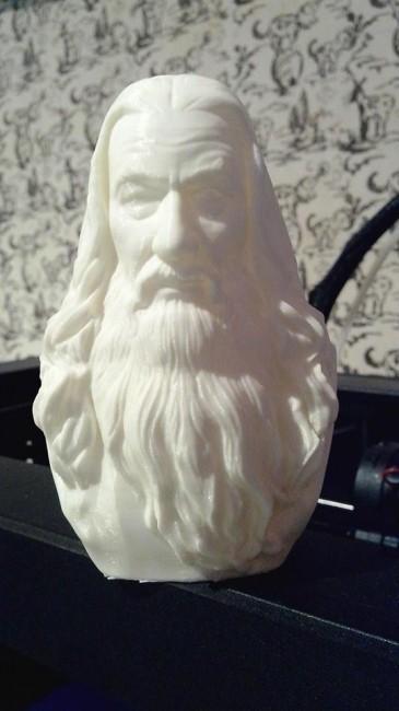 product_image_12475.jpg Download STL file Gandalf Bust • 3D printer template, nikko3d