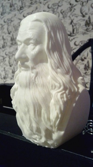 product_image_12479.jpg Download STL file Gandalf Bust • 3D printer template, nikko3d
