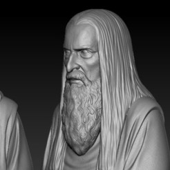 Diseños 3D Saruman the White, nikko3d