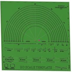 Imprimir en 3D gratis HO Scale Track Template 1:12, tkolensky