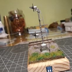 Descargar modelo 3D HO Señal de ferrocarril, tkolensky