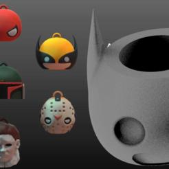 1.png Download free STL file Mates Plakit 7 versiones Pack 3 • 3D printable object, leliel