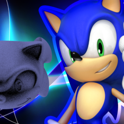 sonic.png Download free STL file Matt Sonic • 3D printer design, leliel