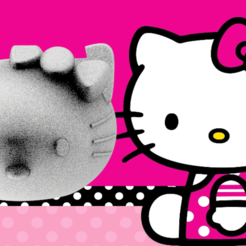 mafaldarender.png Download free STL file Mate Hello Kitty • 3D printable design, leliel