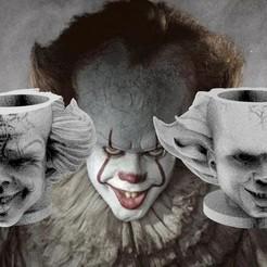 untitled.90.jpg Download free STL file Mate Clown It 2 Versions • 3D print template, leliel