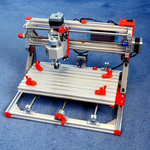 Download free 3D model Desktop 3018 CNC Engraver / Router Endstops & Accessories, PapaBravo