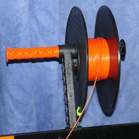 Télécharger objet 3D gratuit Embout de bobine à petit trou pour porte-bobine Prusa i3 MK3, PapaBravo