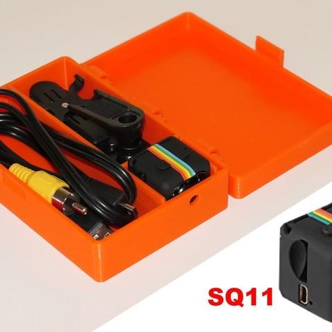 Descargar archivos STL gratis Estuche para Mini Cámara DV SQ11, PapaBravo
