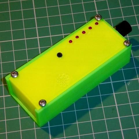 Télécharger fichier STL gratuit Étui pour kit de compteur VU de poche Velleman Pocket MK115, PapaBravo