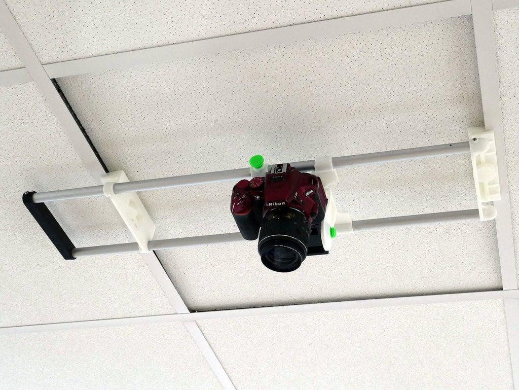 f036c9b286038fcb27d1ff4fd2cf550d_display_large.jpg Télécharger fichier STL gratuit Support de caméra de plafond pour plafonds commerciaux de 600 mm • Design imprimable en 3D, PapaBravo