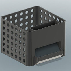 Captura.PNG Download free STL file Desk box • 3D printing template, medastm