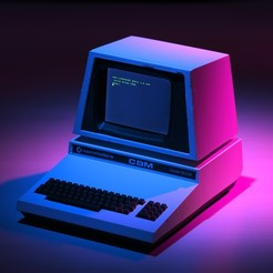 Impresiones 3D gratis Commodore PET Mini, Tincat