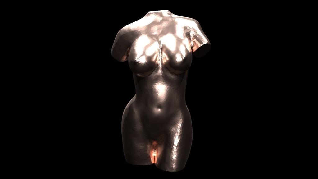 8420d10739e728fa871b47c2c4d3f0d0_display_large.jpg Télécharger fichier STL gratuit sculpture de torse de femme, nue • Design pour impression 3D, GesaPi
