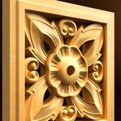 Download free 3D printing models frame renaissance moulure holder wall, 3DPrinterFiles