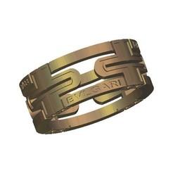 Download free 3D printer designs bulgari bvlgari ring, 3DPrinterFiles