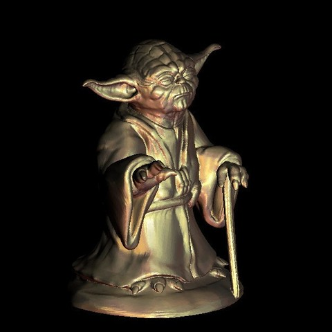 7.jpg Download free STL file Master Yoda from Star Wars • Model to 3D print, 3DPrinterFiles
