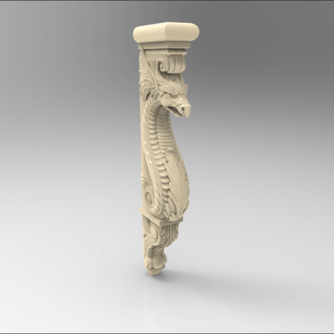 Screenshot_143.png Download free STL file Dragon decoration art home • 3D print object, 3DPrinterFiles
