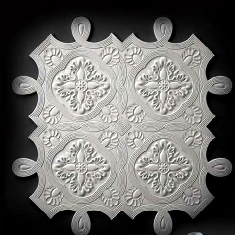 Télécharger modèle 3D gratuit cadre oriental porte-moulure murale, 3DPrinterFiles