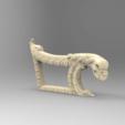 Download free 3D printing models armchair arm renaissance art furniture, 3DPrinterFiles