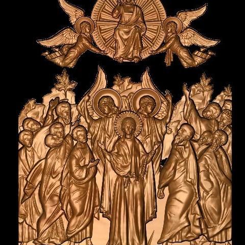 2.jpg Télécharger fichier STL gratuit Jésus anges et saints • Plan imprimable en 3D, 3DPrinterFiles
