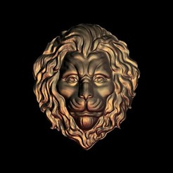 329.jpg Télécharger fichier STL gratuit visage de lion triste • Design pour imprimante 3D, 3DPrinterFiles