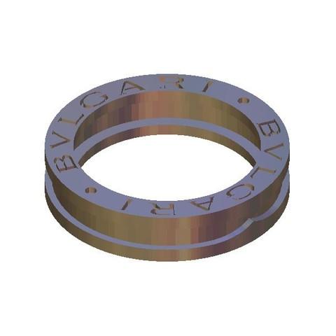 Free STL file bvlgari bulgari ring, 3DPrinterFiles
