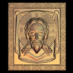 16.jpg Download free STL file Jesus face religious • Model to 3D print, 3DPrinterFiles