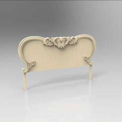 Download free 3D printer designs bed headboard, 3DPrinterFiles