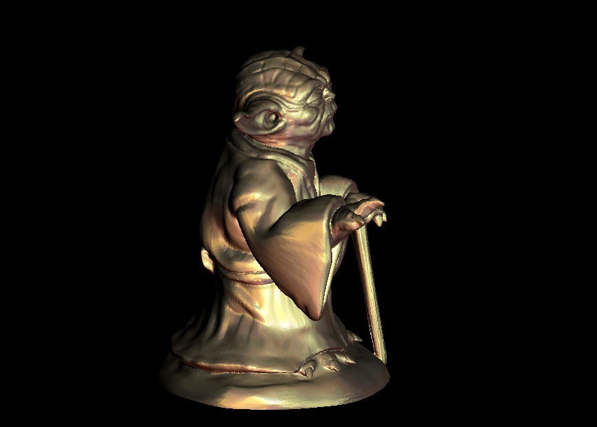 6.jpg Download free STL file Master Yoda from Star Wars • Model to 3D print, 3DPrinterFiles