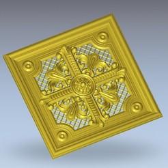 Télécharger plan imprimante 3D gatuit cadre de suspension murale d'art médiéval, 3DPrinterFiles