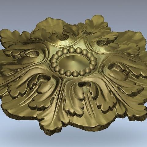 Télécharger modèle 3D gratuit Moulures vintage pour vieux appartements classiques cnc art machine à router 3D printed, 3DPrinterFiles