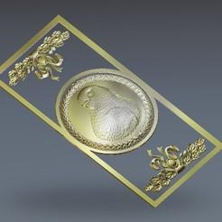 390.jpg Télécharger fichier STL gratuit Cintre mural aigle • Plan pour impression 3D, 3DPrinterFiles