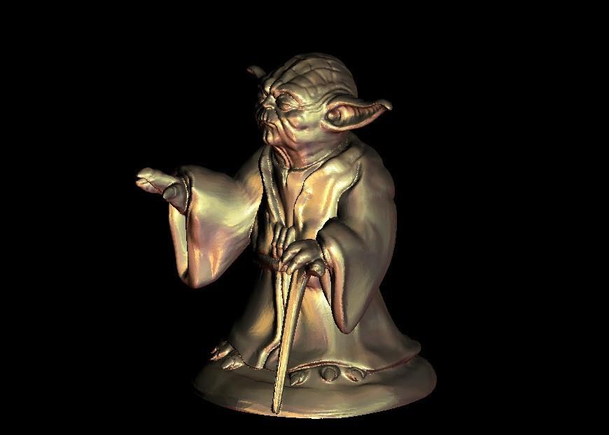 2.jpg Download free STL file Master Yoda from Star Wars • Model to 3D print, 3DPrinterFiles