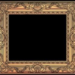 Télécharger fichier STL gratuit peinture d'oeuvre d'art sur cadre, 3DPrinterFiles