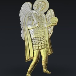 360.jpg Download free STL file Saint knight religious • Object to 3D print, 3DPrinterFiles